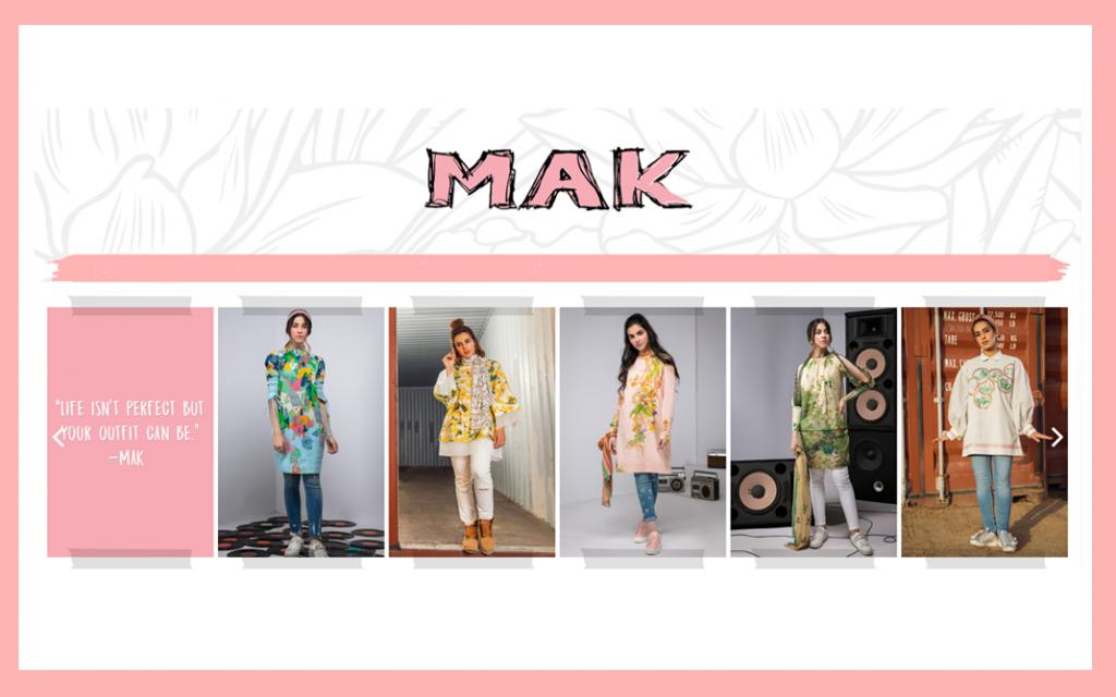 MAK by Alkaram - Influencer Marketing Campaign