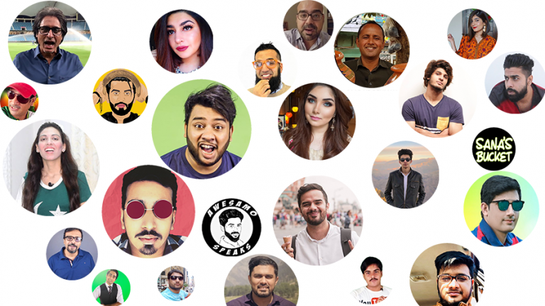 Top 25 Best Youtubers of Pakistan