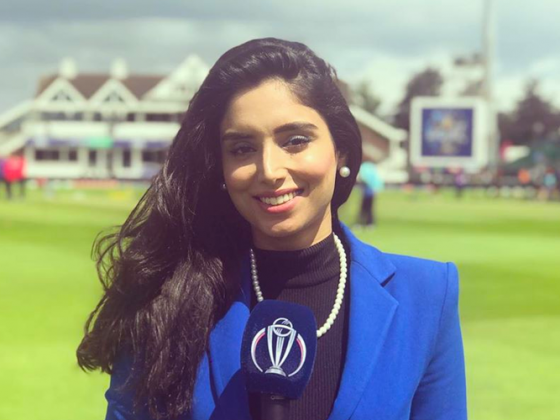 Zainab Abbas ICC Cricket World Cup 2019